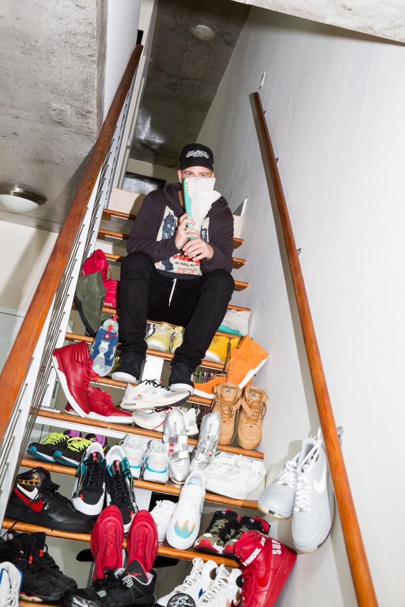 inside john geiger closet