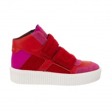 mm6 maison martin margiela colorblock platform high top sneaker