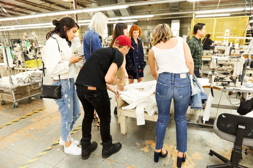 ag jeans denim factory