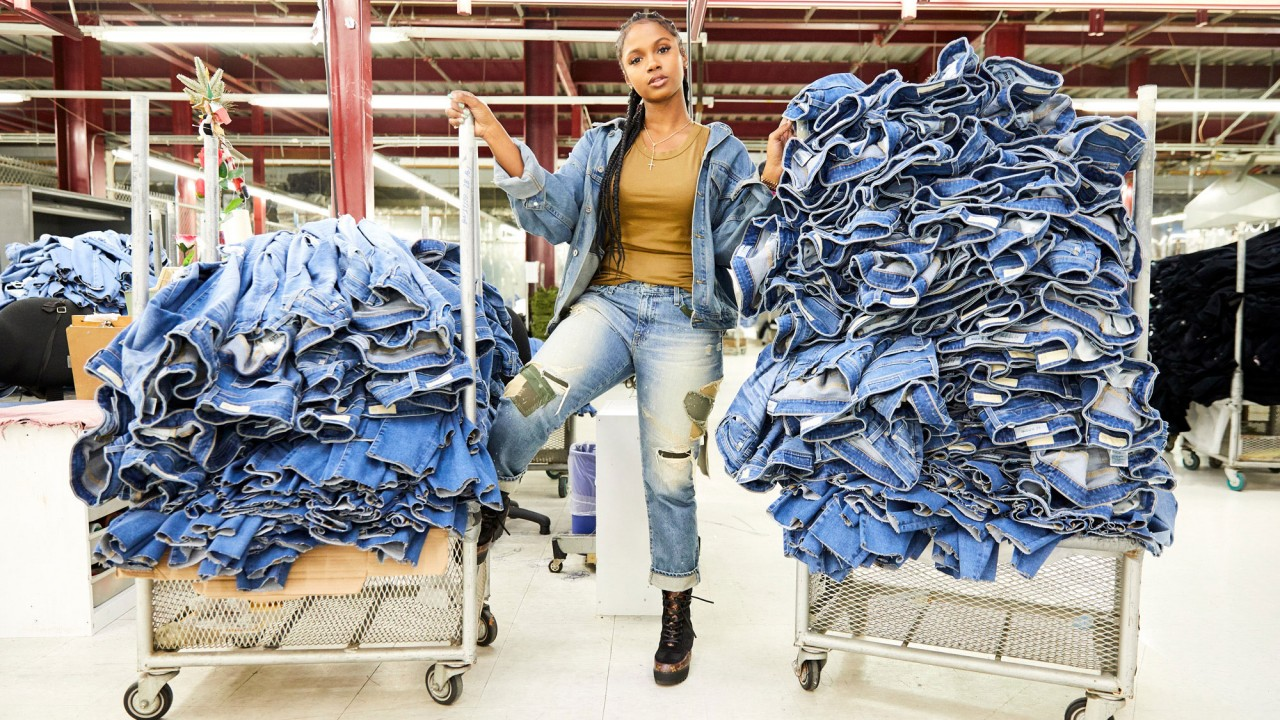 We Got an Exclusive Tour of the AG Denim Factory