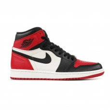 air jordan 1 retro high og gym red black summit white