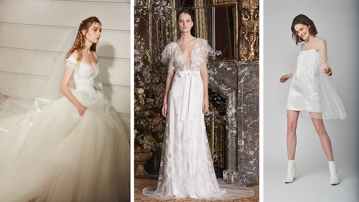 These Will Be the Biggest Wedding Dress Trends This Year