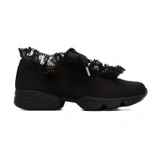ganni black hariet sneakers