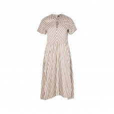 isabel marant striped midi dress