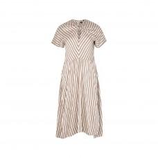isabel marant striped midi dress