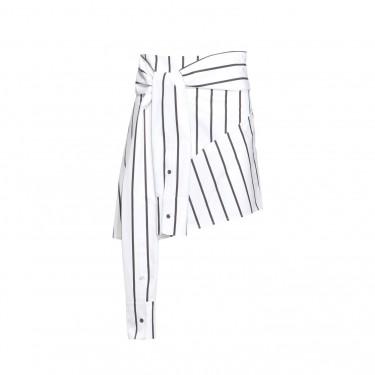 ji oh tied sleeves skirt