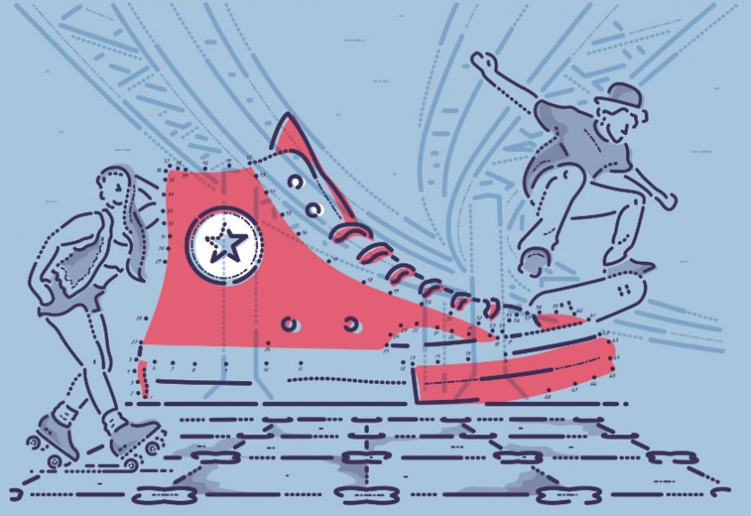joining the dots of sneaker culture book