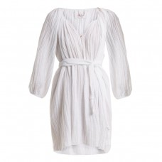 loup charmant peasant cotton tunic dress