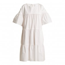 merlette st germain gathered cotton dress