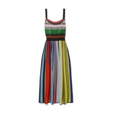 missoni chrochet knit midi dress