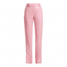 msgm side slit sequin trousers
