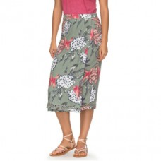 roxy endless valley midi skirt