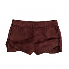roxy hot spring arizona faux suede shorts