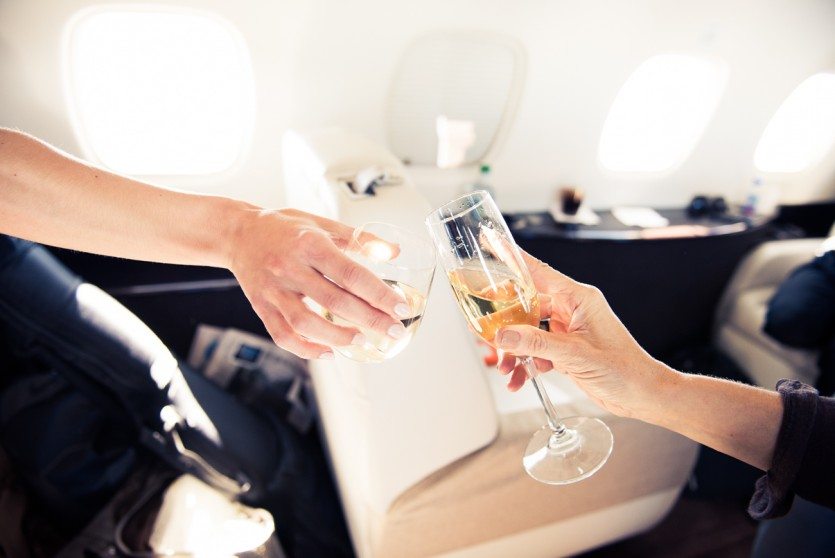 how to fake first class