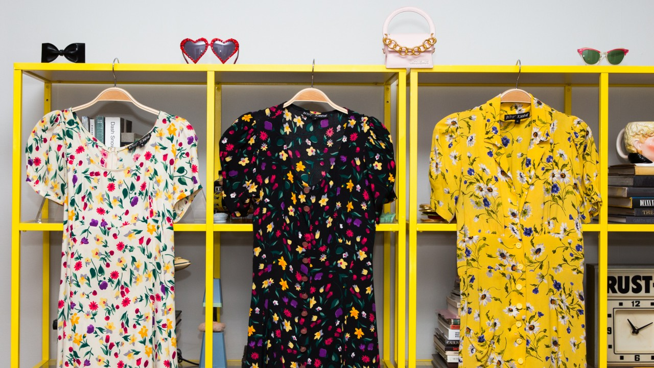 Inside the Ultra-Bright Closet of Fashion's Favorite Candy Maker