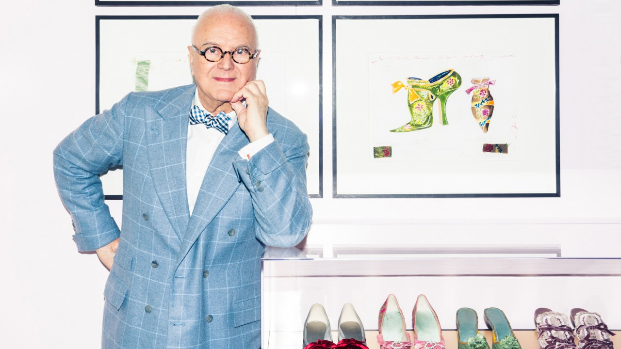 60 Delightful Minutes with Manolo Blahnik