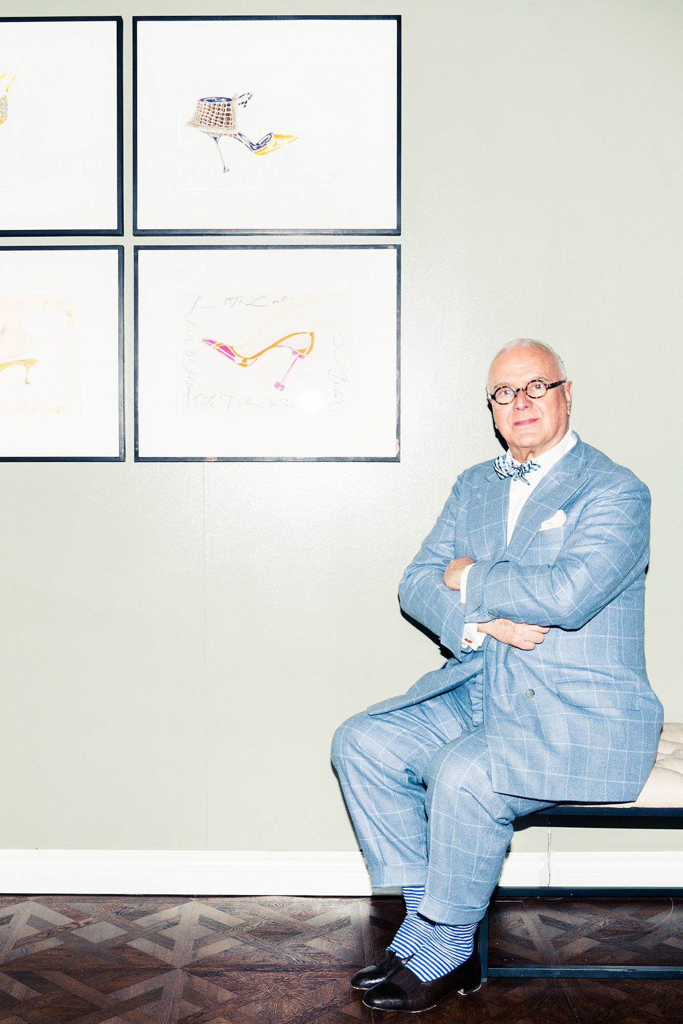 Manolo blahnik on his recent collaborations rihanna and for Shoe designer manolo blahnik