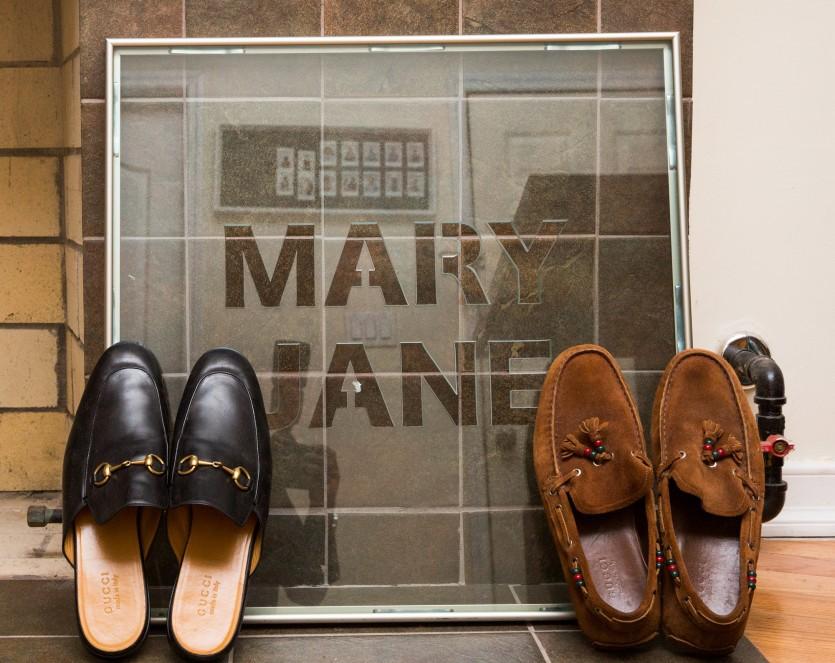 inside mark anthony green closet