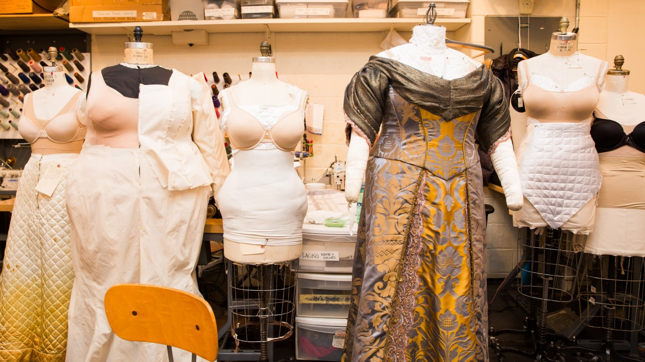 The Met Opera's Costume Shop Proves Satin Will Always Be a Go-To