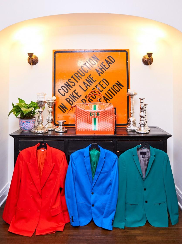 inside derek roche closet
