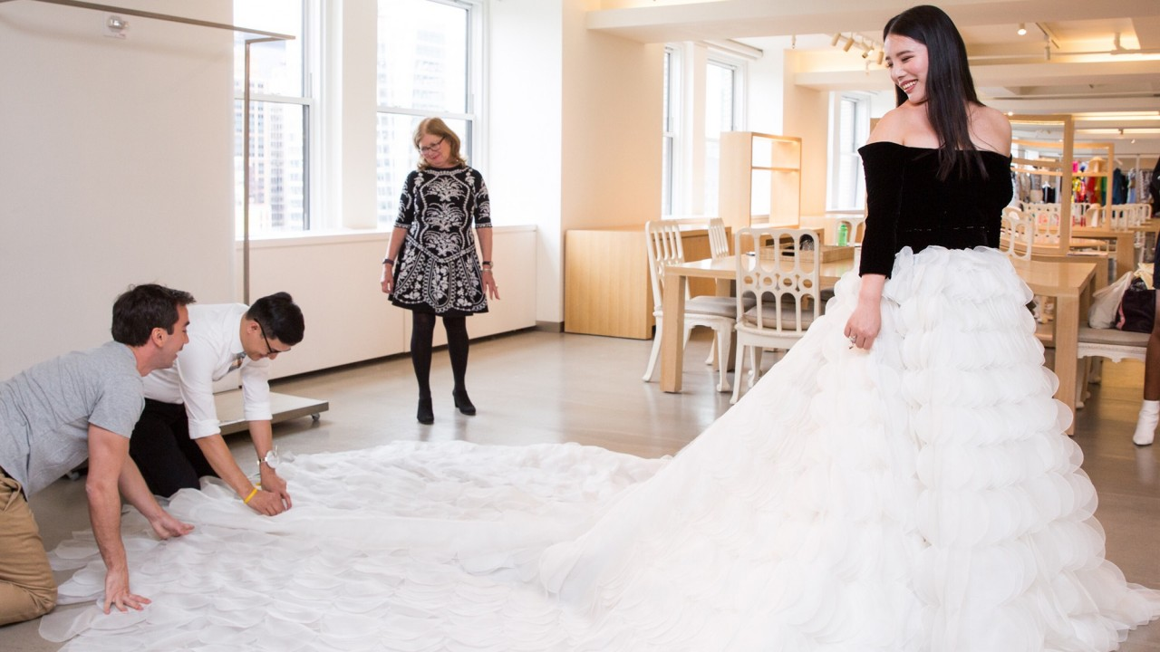 Wendy Yu Invited Us to Her Met Gala Fitting at Oscar de la Renta