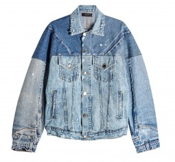 Reconstructed Trucker Denim Jacket by Amiri