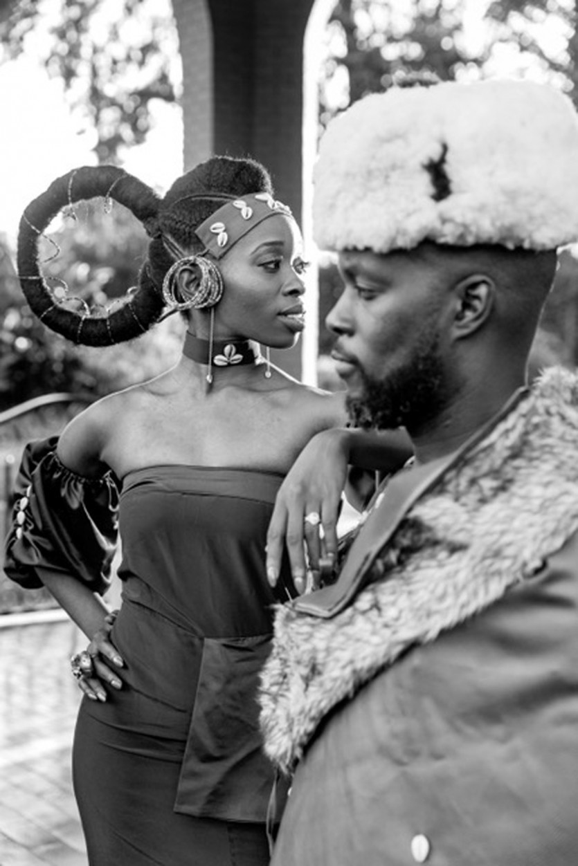 inside ayanna james kimani wedding