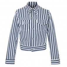 eve deni kaila striped denim jacket