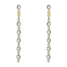 ilana ariel dot matchstick earrings
