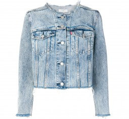 Collarless Denim Jacket by Levi's