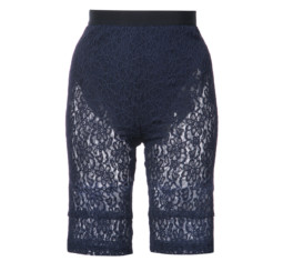 Lace Fitted Shorts by Nina Ricci