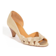 sezane jeannette open toe pump