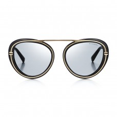 tiffany and co t aviator sunglasses in black