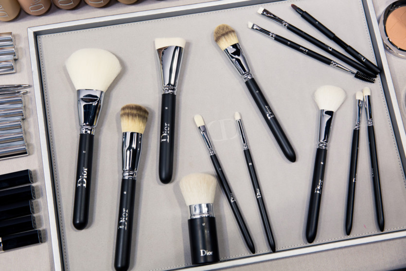 dior backstage makeup collection