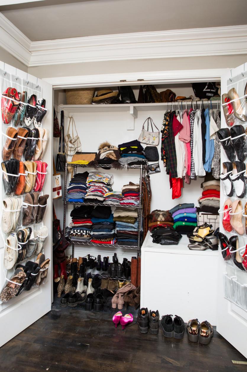 inside katie schecter closet