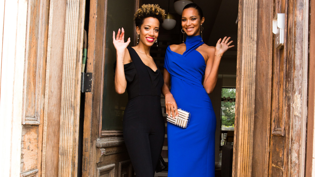 How Supermodel Lais Ribeiro and Designer Carly Cushnie Pre-Game for the CFDA Awards