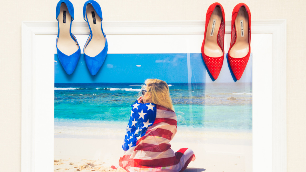 what editors are wearing for the fourth of july