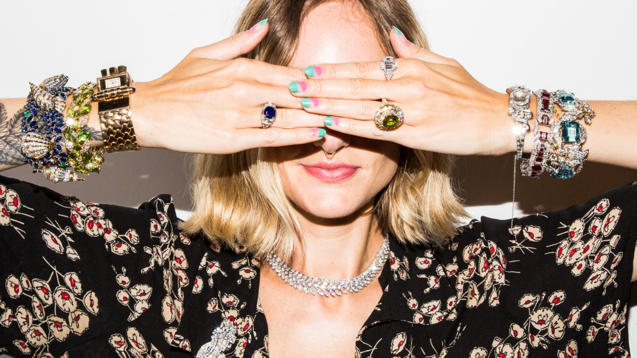 What It Feels Like to Wear Over $1 Million Worth of Jewelry