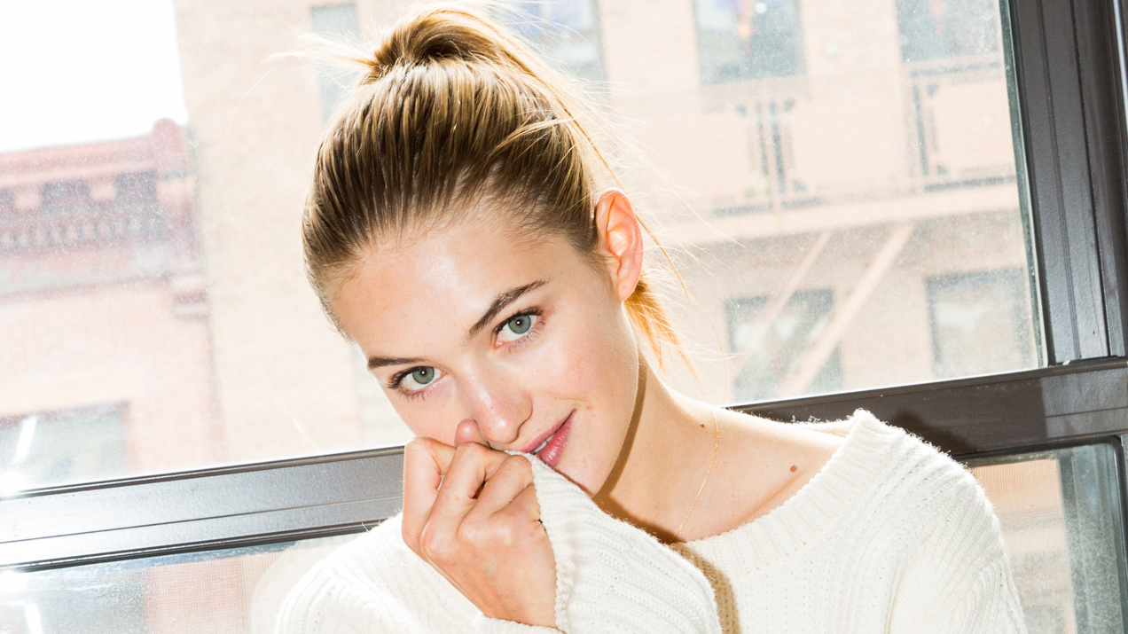 A Dutch Model's Secret to Getting Rosy Cheeks & Glowing Skin