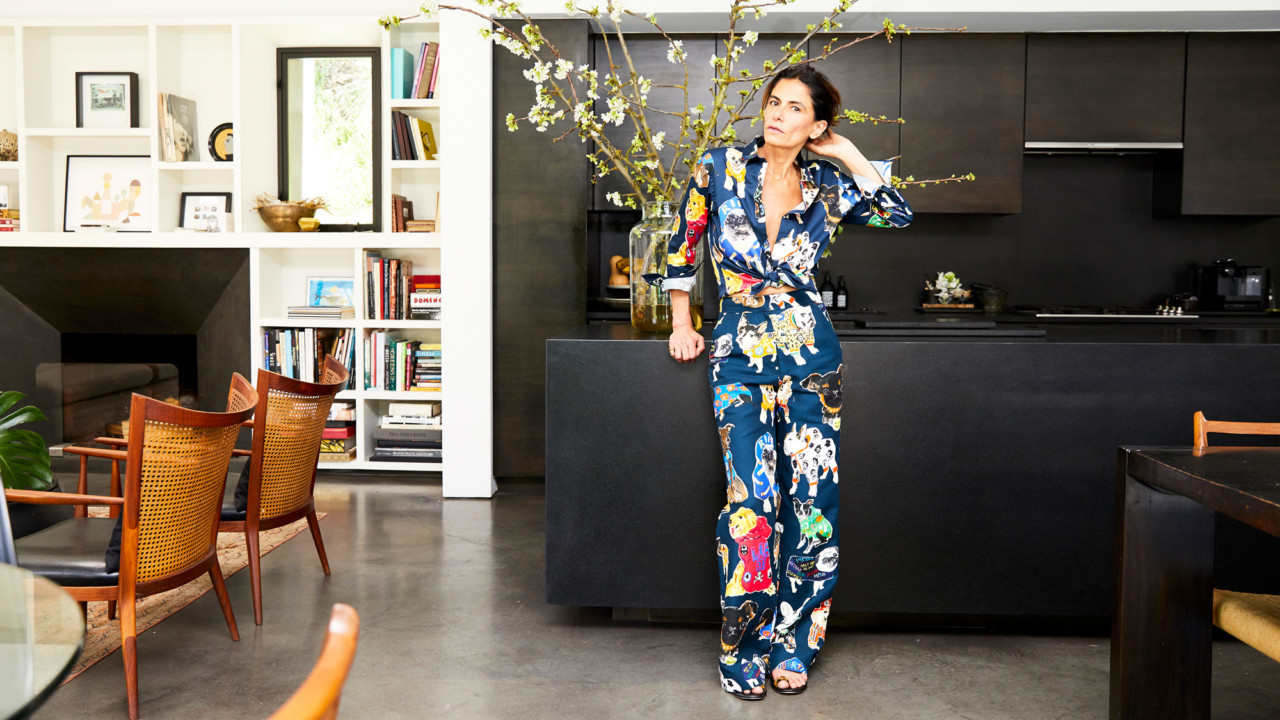 Rock 'n' Roll Stylist Maryam Malakpour's Home Has a Secret Wardrobe Room