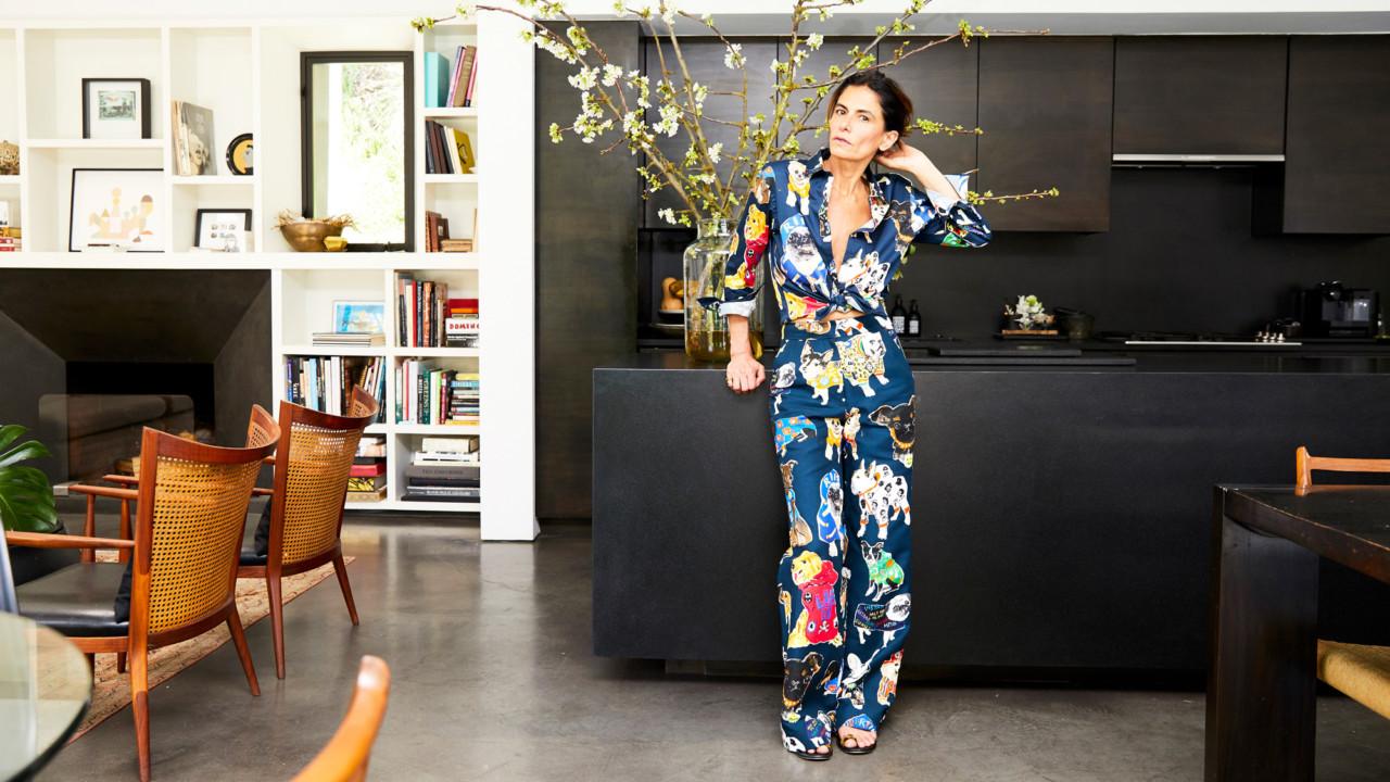 Rock 'n' Roll Stylist Maryam Malakpour's Home Has a Secret Wardrobe Room