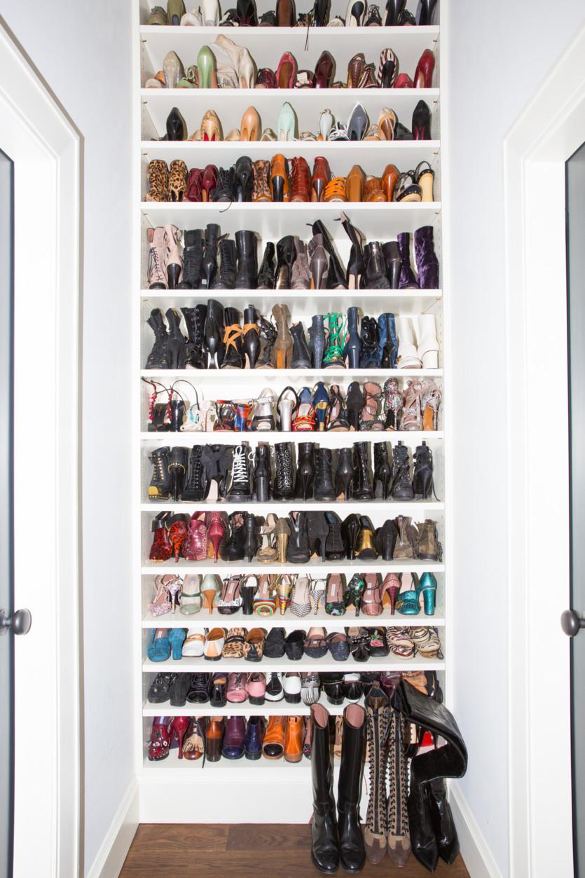 inside vanessa chow closet