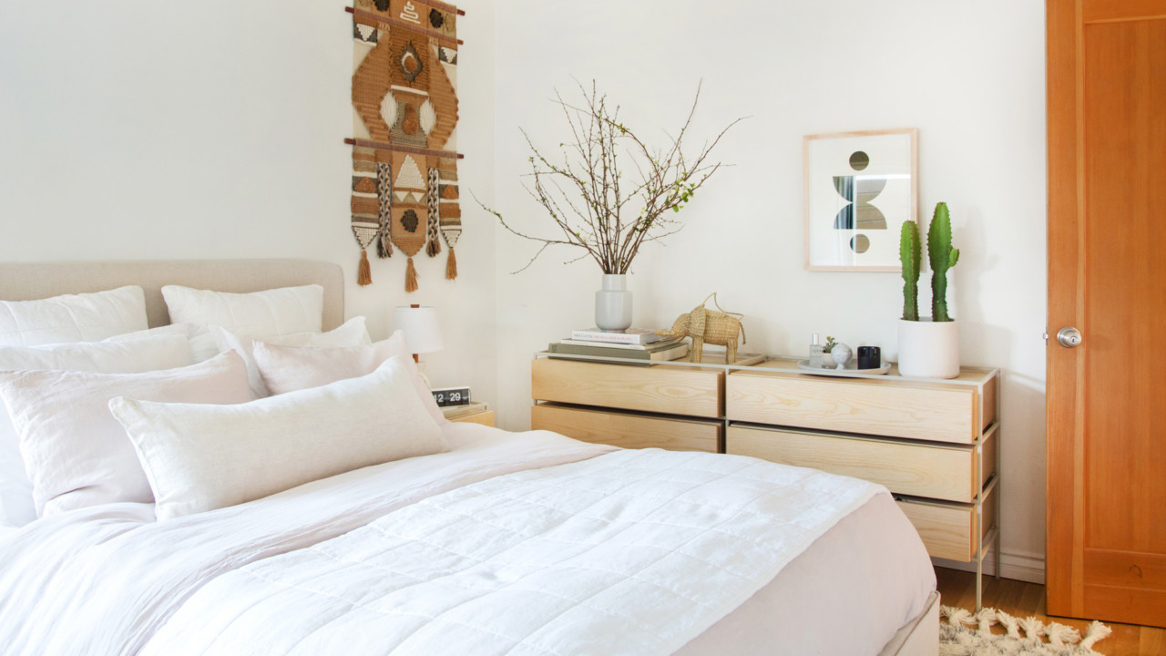 Ariel Kaye Created the Luxe, Minimalist Bedding Everyone Always Wanted