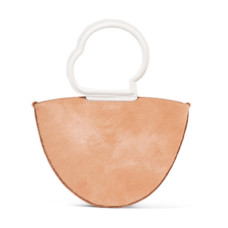 danse lente lilou calf hair and textured leather tote