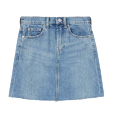 everlane the denim skirt
