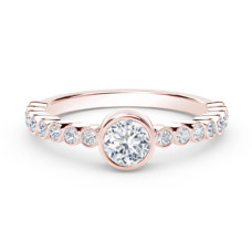 forevermark the tribute collection diamond stackable ring