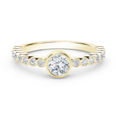 the forevermark tribute collection diamond stackable ring