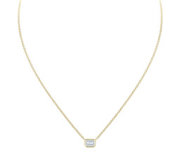 Emerald Diamond Necklace by Forevermark