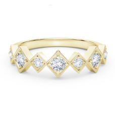 forevermark the tribute collection stackable diamond ring