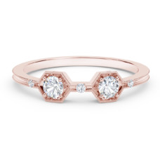 forevermark the tribute collection two stone diamond ring